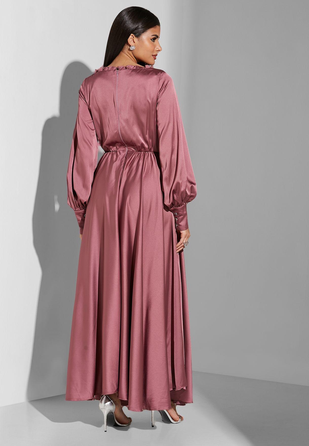 Puffy Sleeved Dress
