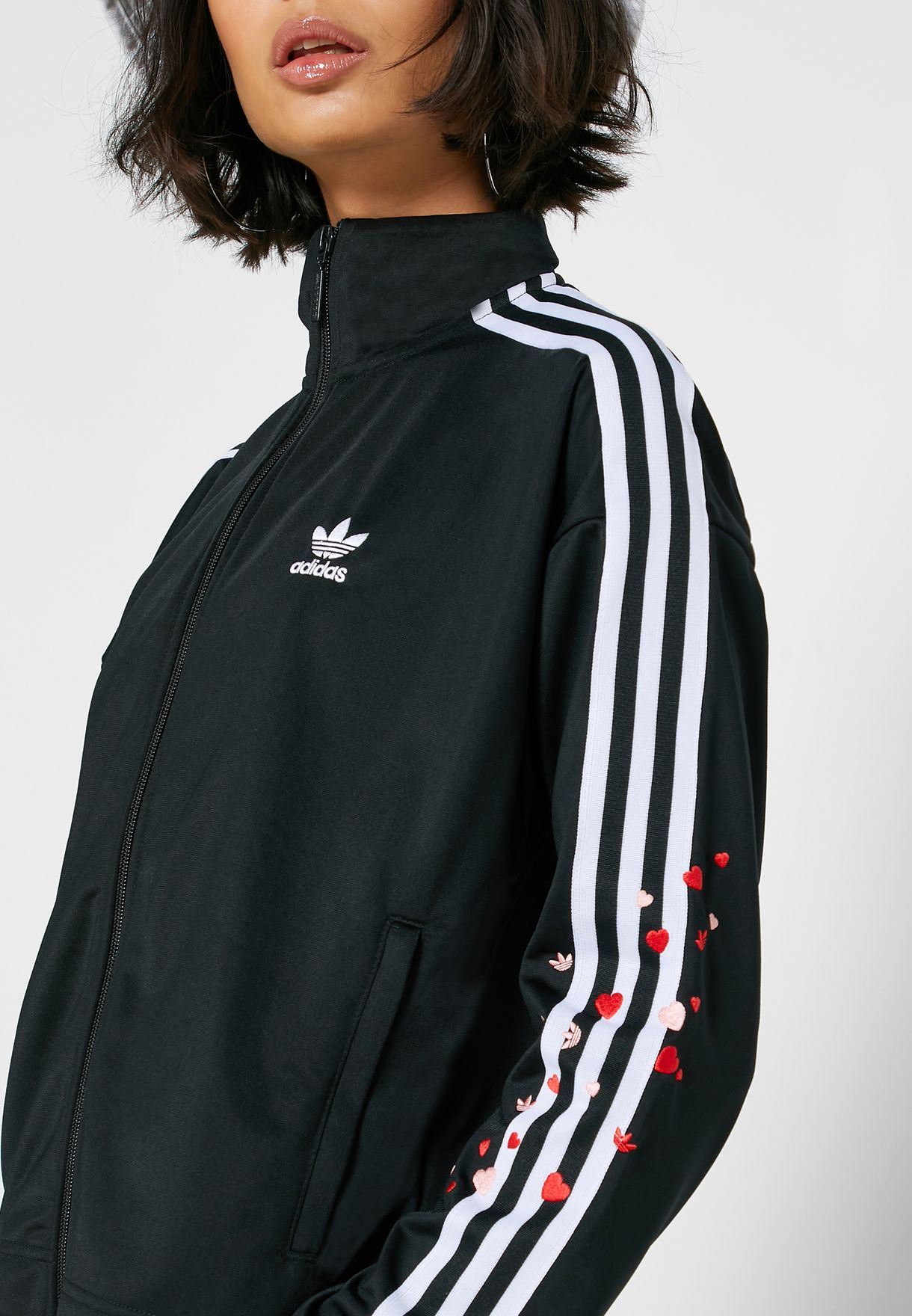 Logo 3 Stripe Track Jacket