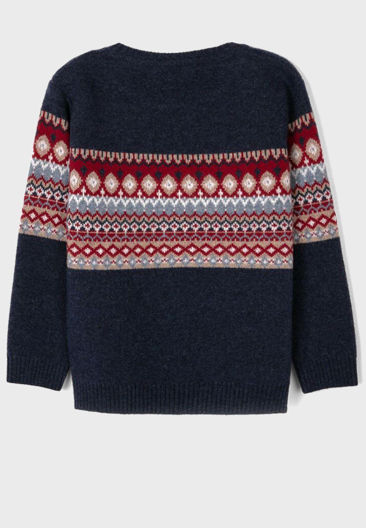 Kids Jacquard Sweater