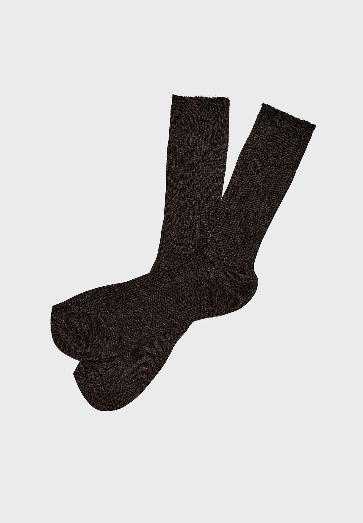 3 Pack Soft Top Socks