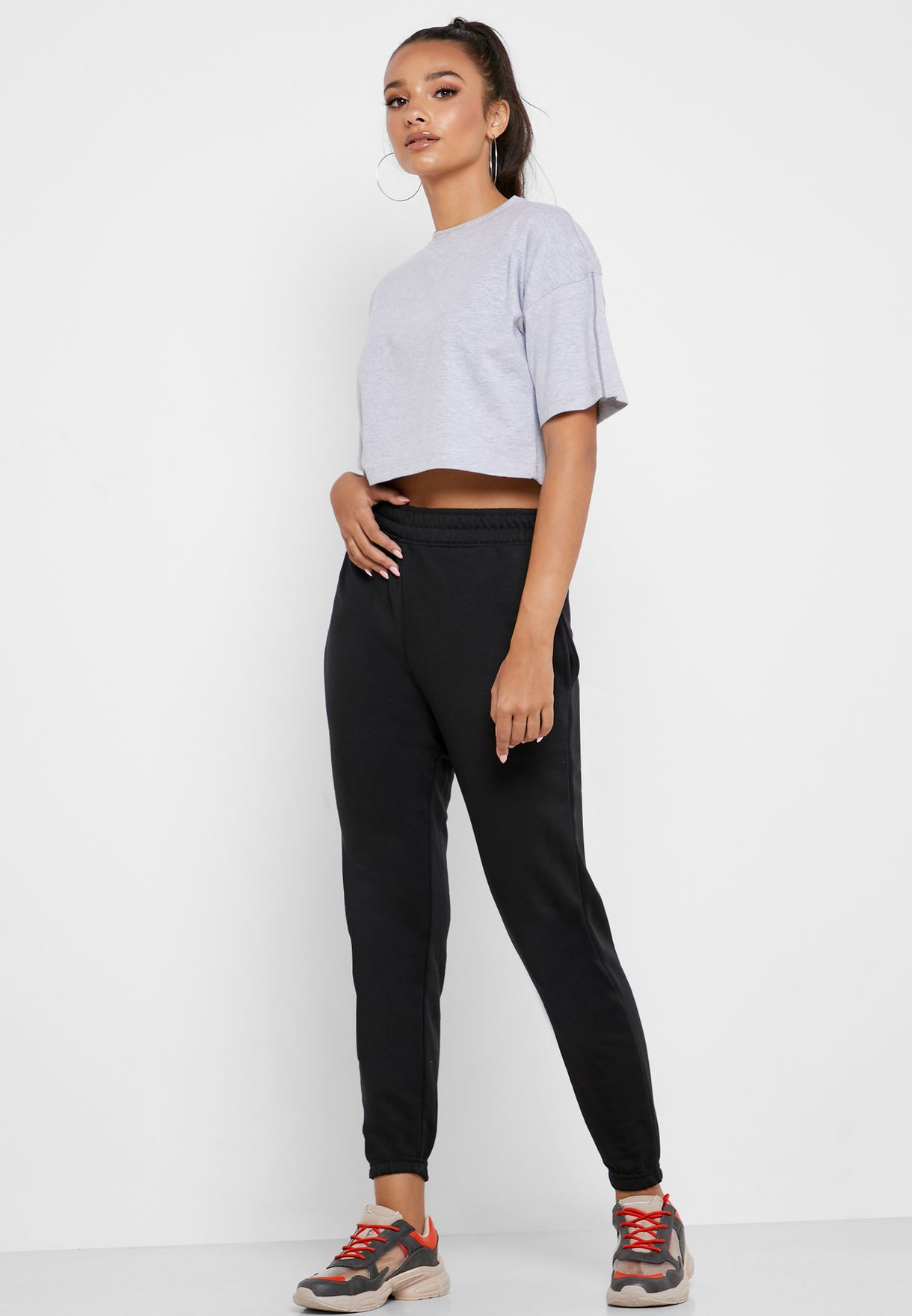 Textured  T-Shirt Co Ord