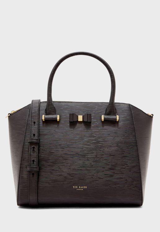 Daryyl Bow Detail Tote