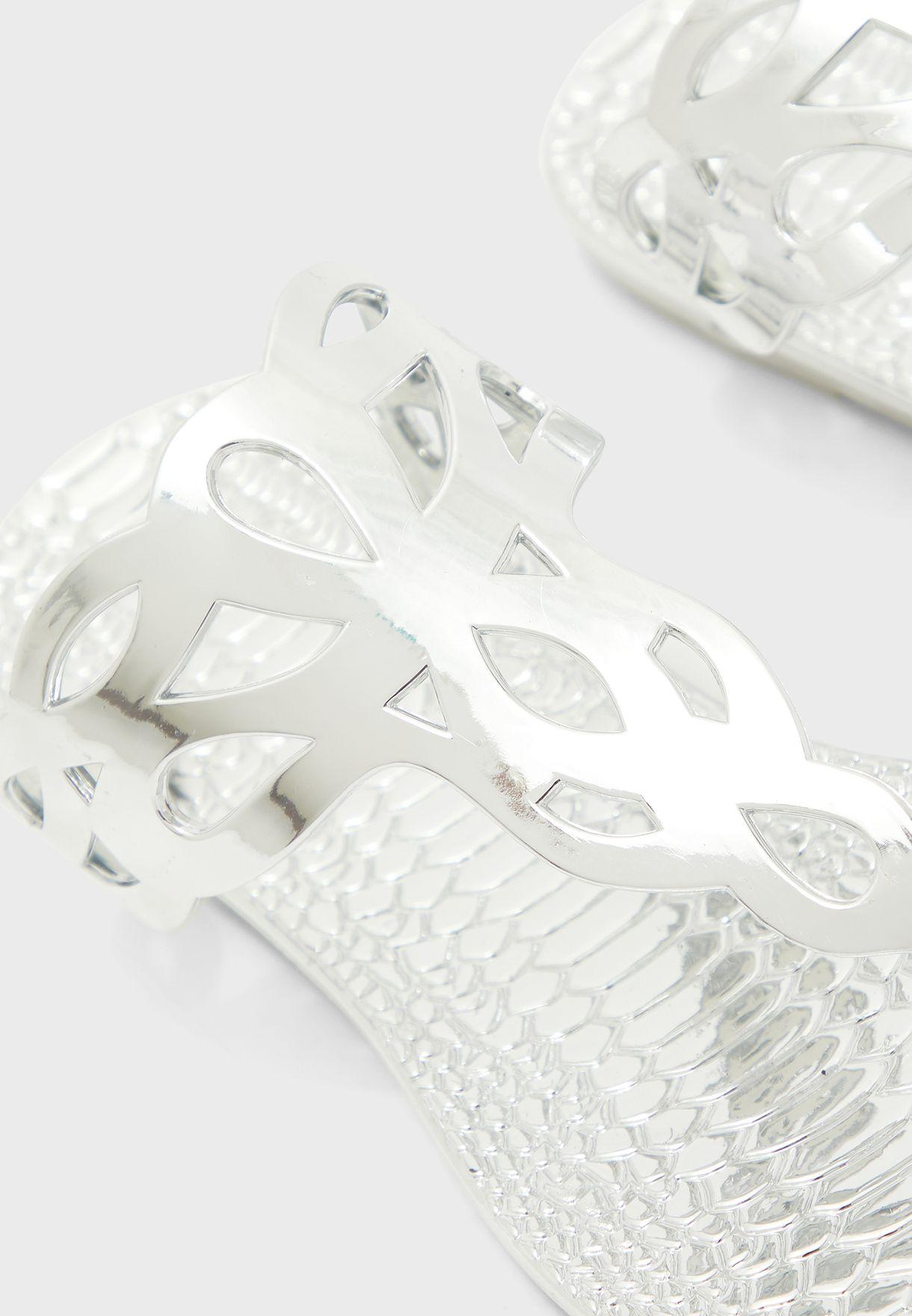 Woven Design Flip Flop