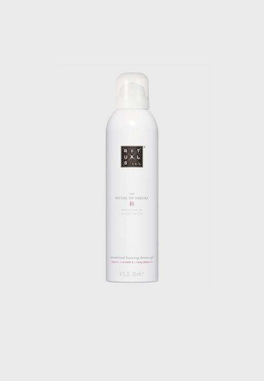 Sakura Foaming Shower Gel 200ml