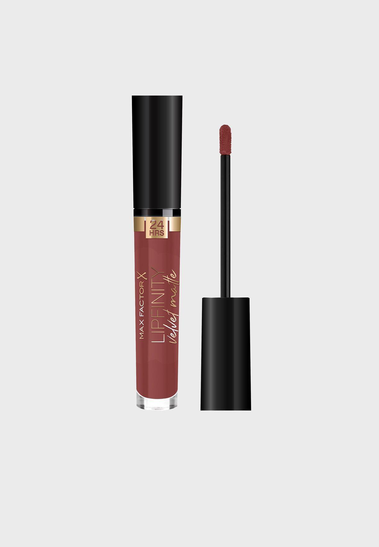 Lipfinity Velvet Matte Liquid Lip 075