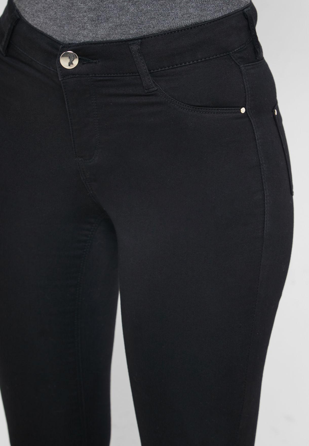 Frankie Raw Hem Jeans