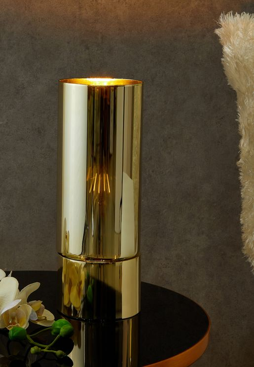Lax Gold Mirror Finish Table Lamp