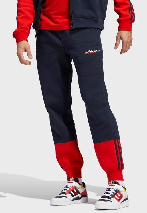 3 Stripe Split Sweatpants