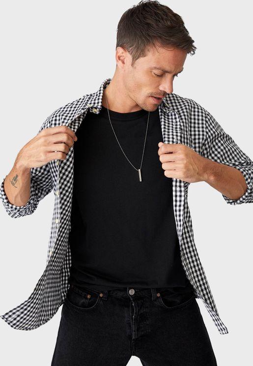 Checked Regular Fit Shirt