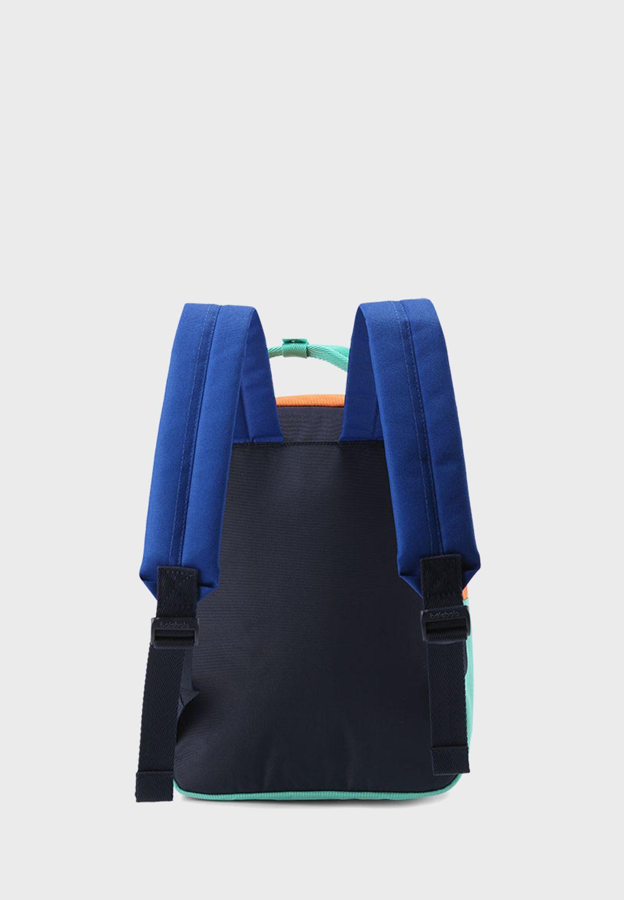 Kids Color Block Backpack