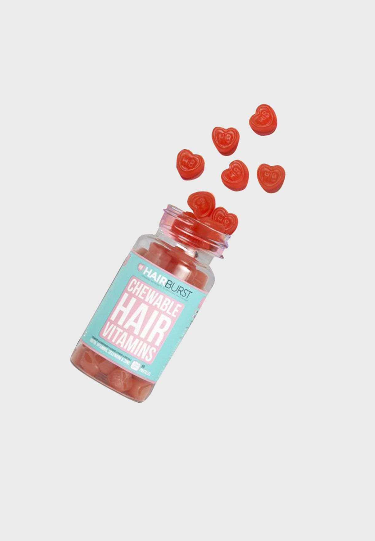 Chewable Heart Hair Vitamins