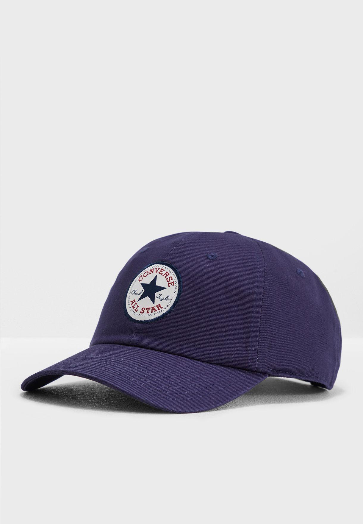 Shop Converse navy Chuck Taylor Baseball Cap 10008474-A05 for Men in Oman -  49032AC27QBP 3e5bd54bc3