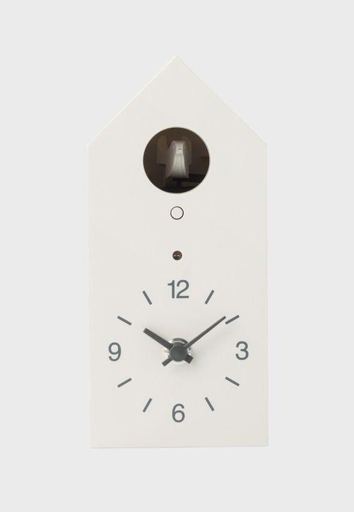 ساعة بتصميم على شكل طائر الوقواق