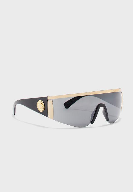 0VE2197 Shield Sunglasses