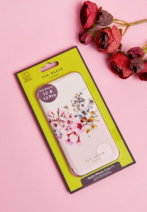 iPhone 12 / Pro / Pro Max Folio Jasmine Floral Case