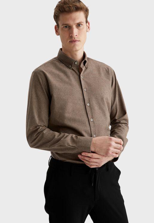 Button Down Regular Fit Shirt