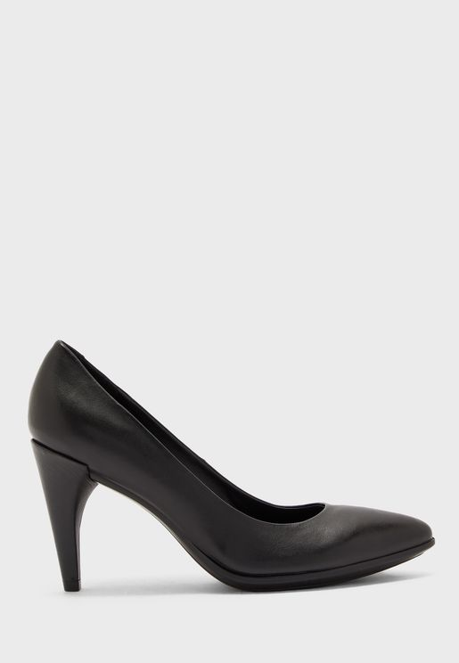 Pointed Toe High Heel Pump
