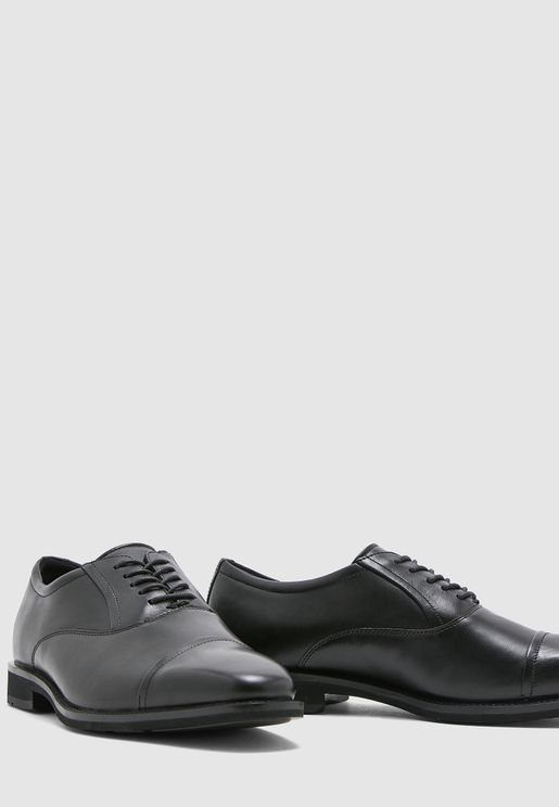 Calcan Cap Oxford Lace ups