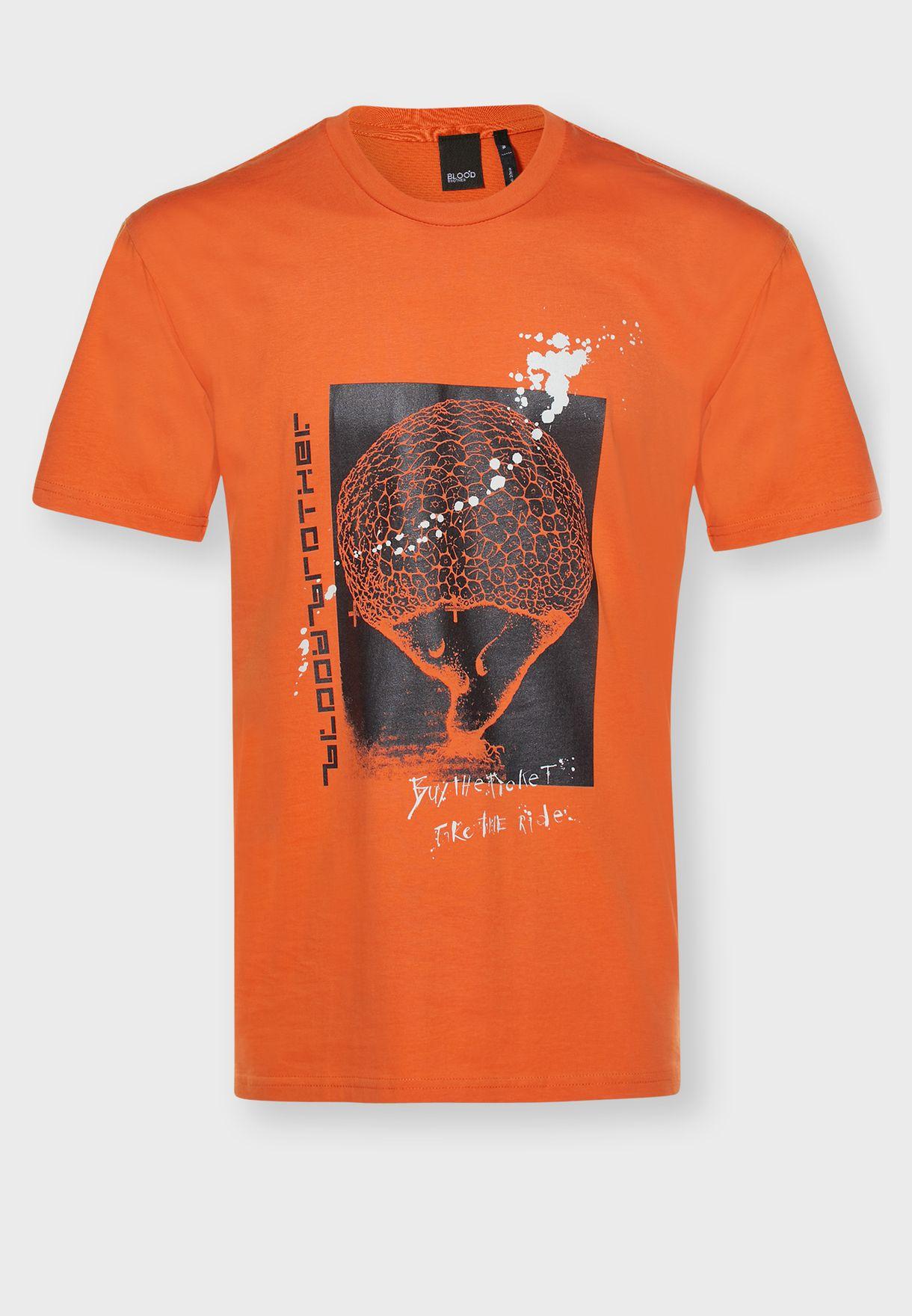 Take The Ride Printed T-Shirt