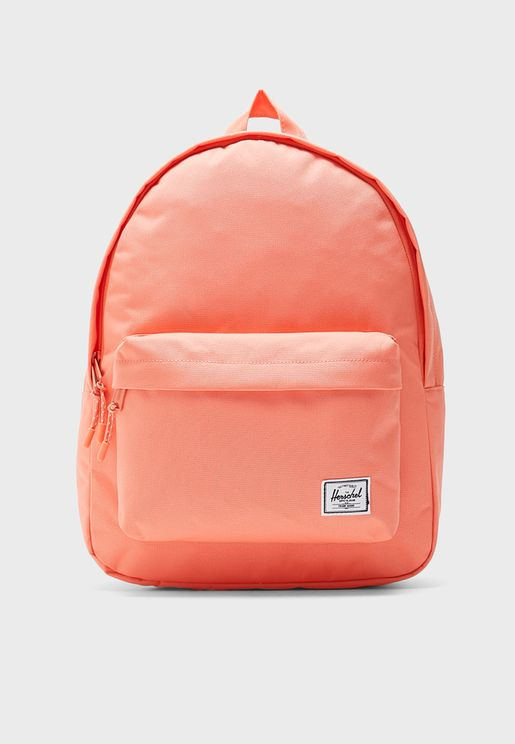 77ff3f5f6 Classic Front Zip Pocket Backpack