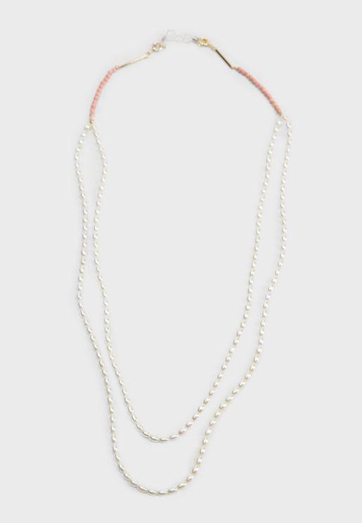 Tulipan Beads Chain Sunglasses