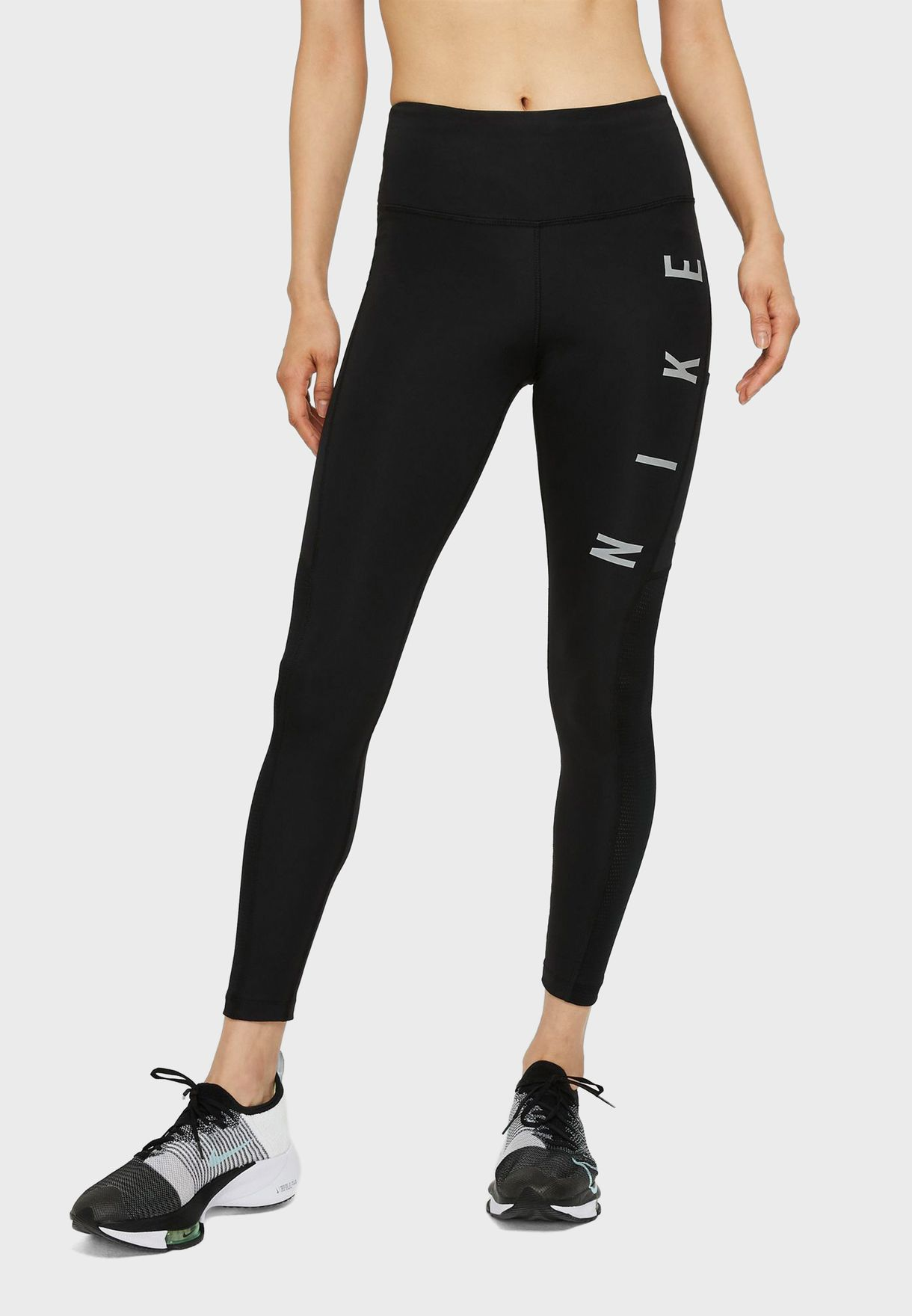 Reflective Epic Run Graphic Leggings