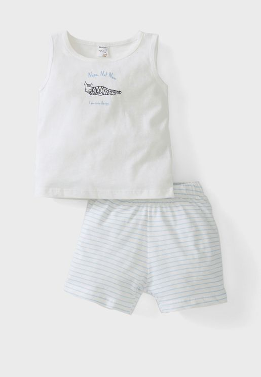 Infant Slogan Pyjama Set