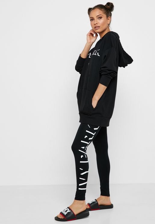 Logo Ankle Leggings