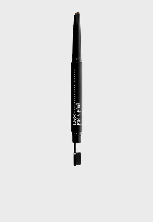 Fill & Fluff Eyebrow Pomade Pencil-Ash Brown