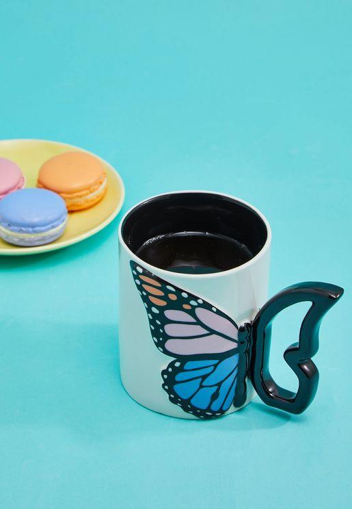 Butterfly Shaped Mug