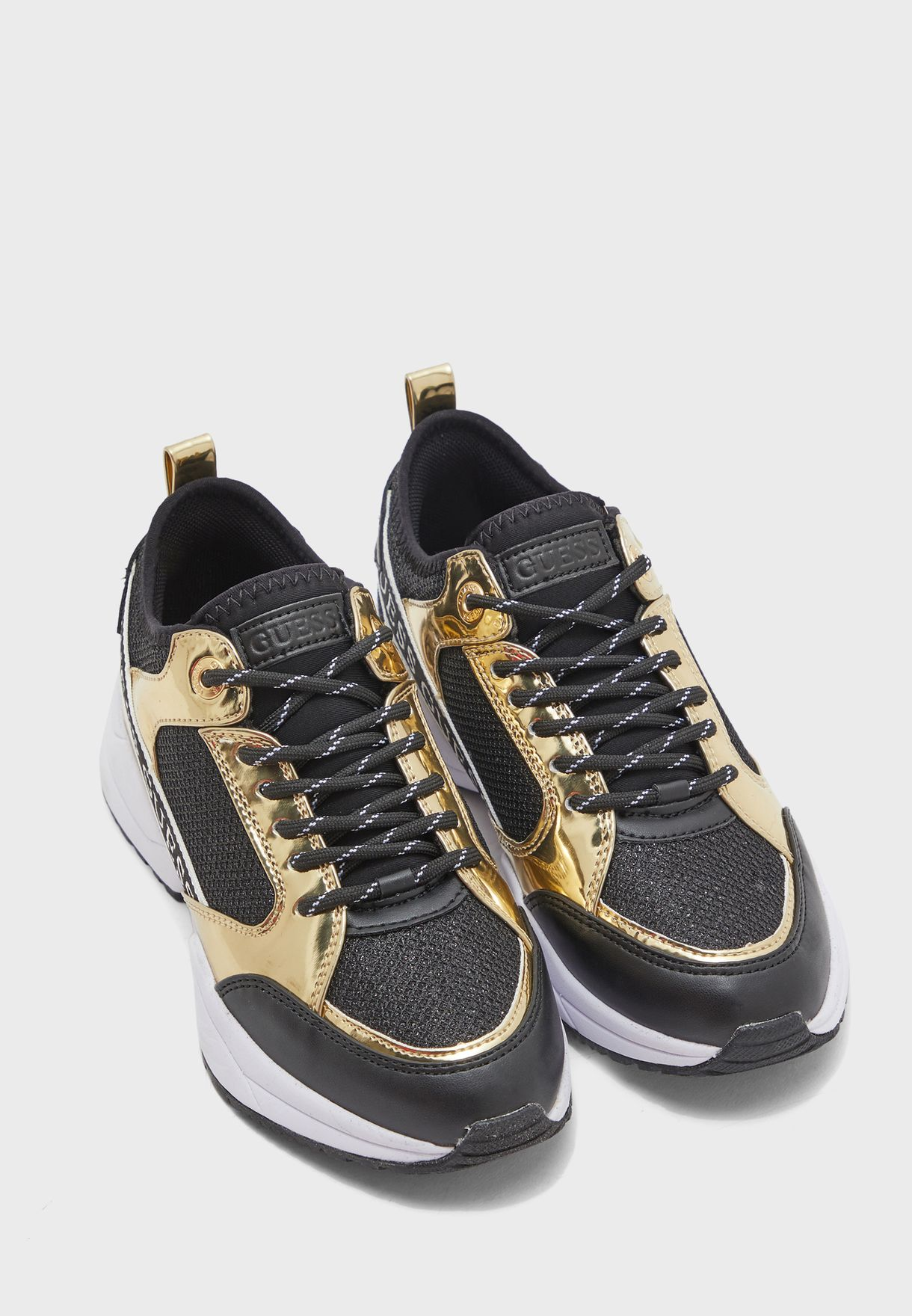 Buy Guess black Breeta Low Top Sneaker
