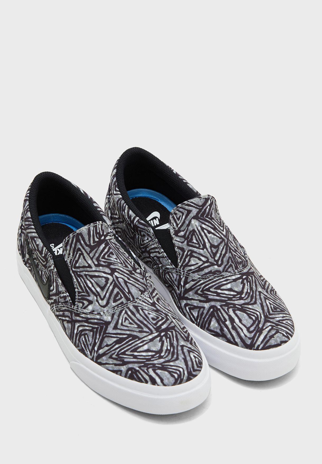 حذاء مطبع سهل الارتداء