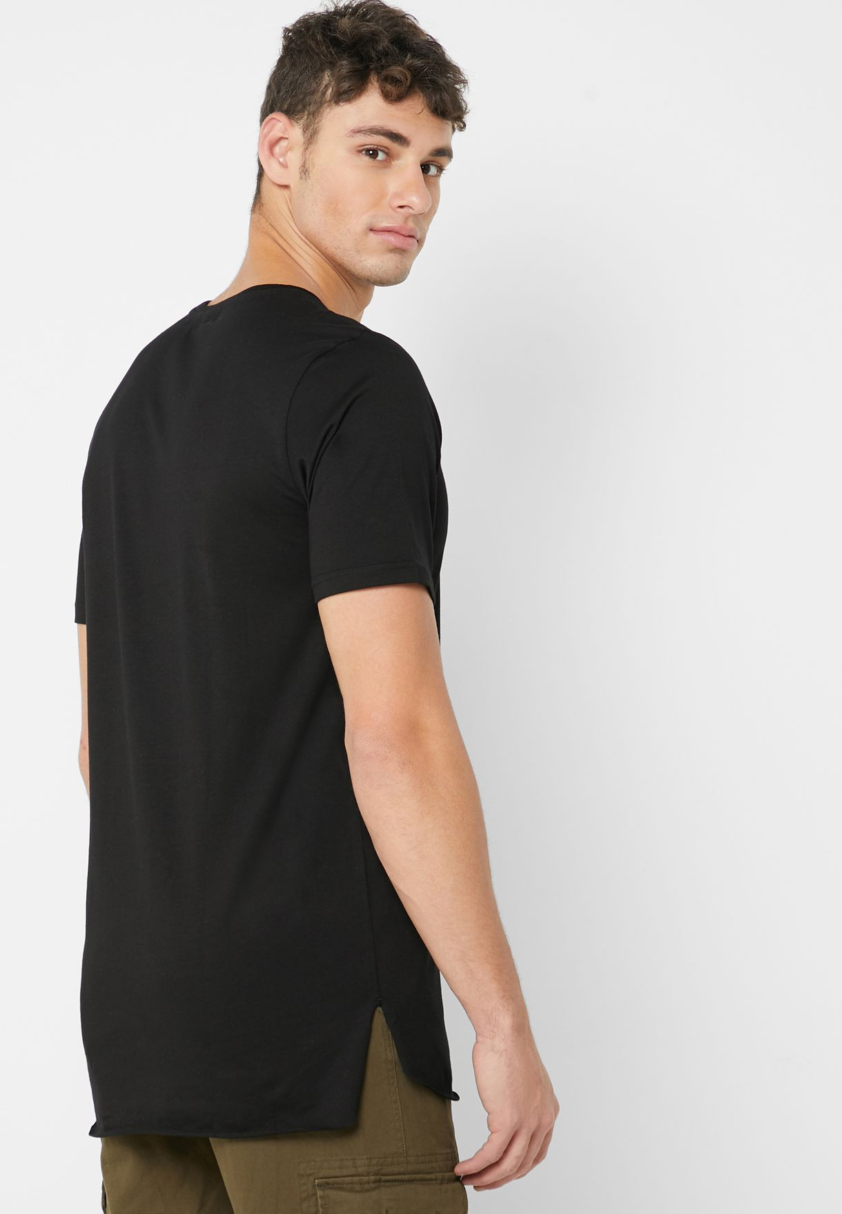 Side Split T Shirt