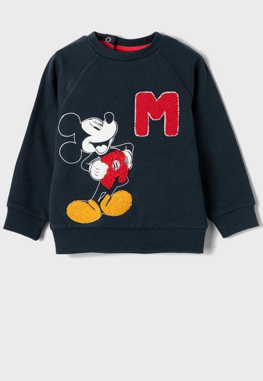 Infant  Mickey Sweatshirt