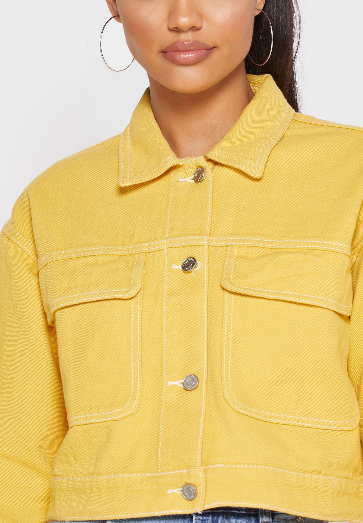 Utility Pocket Denim Jacket