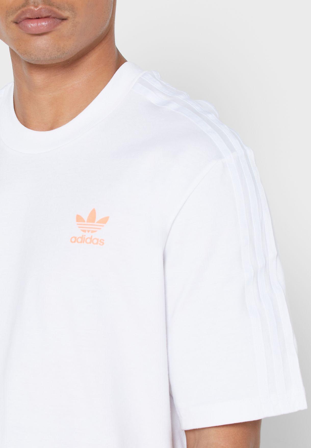 Logo 3 Stripe T-Shirt