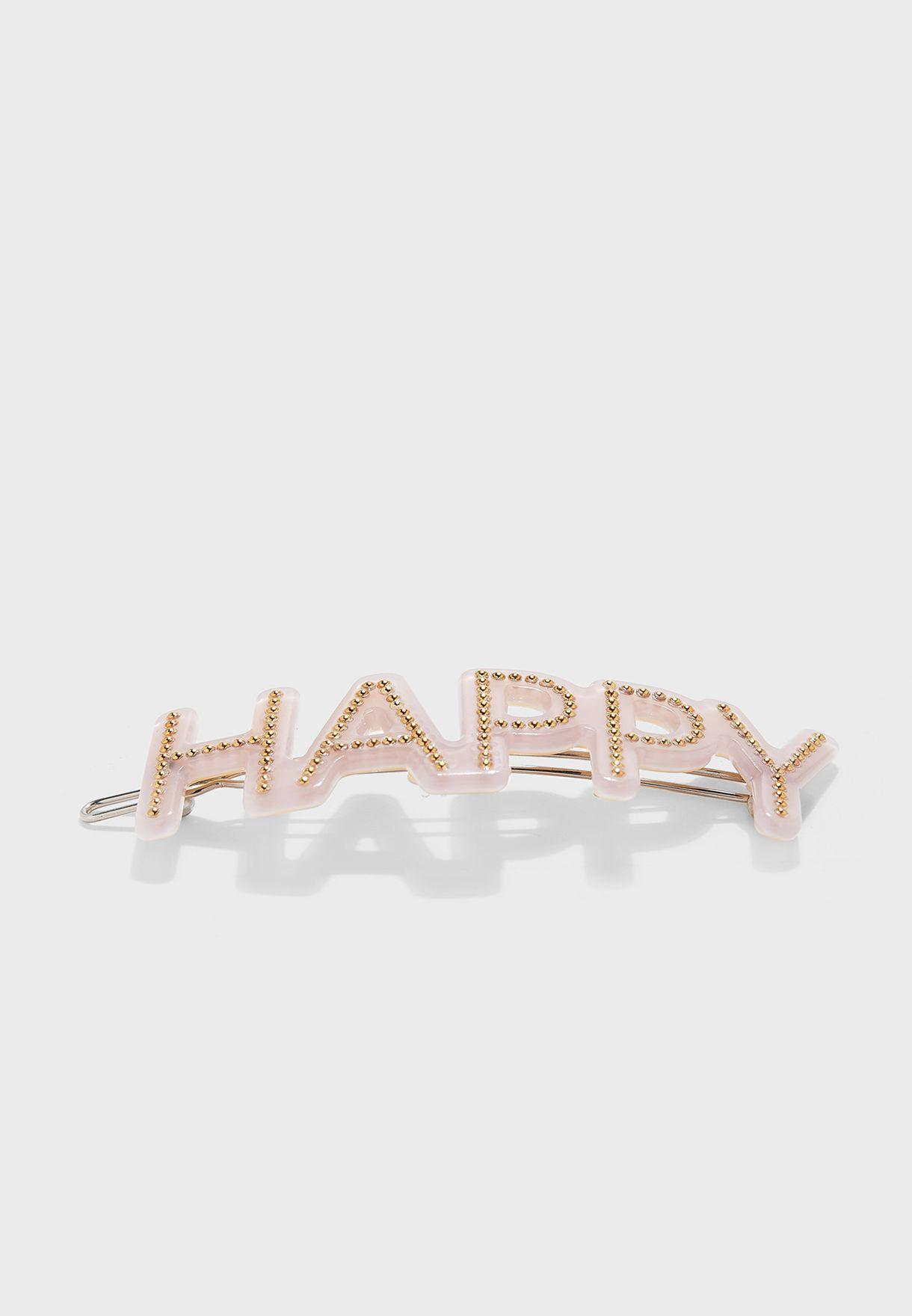 Kids Happy Hair Clip
