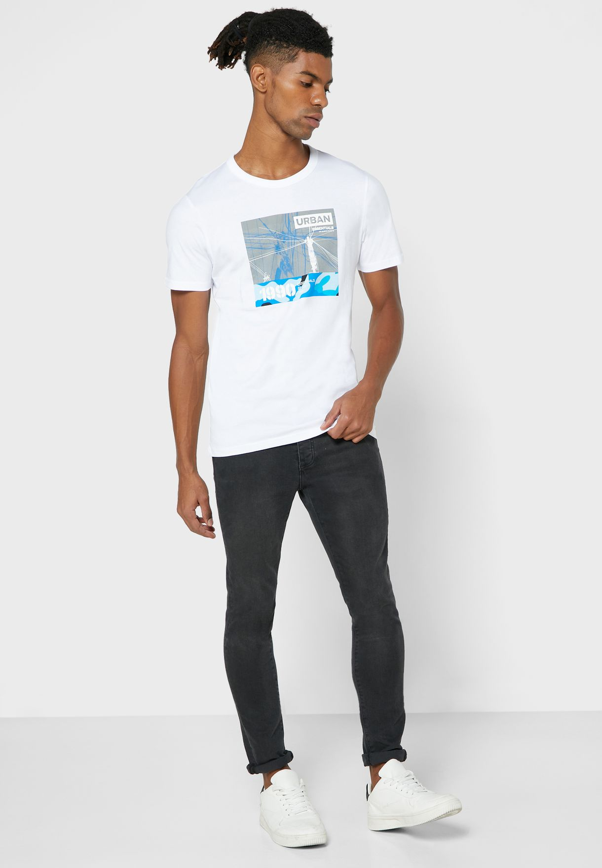Signal Slim Fit Crew Neck T-Shirt