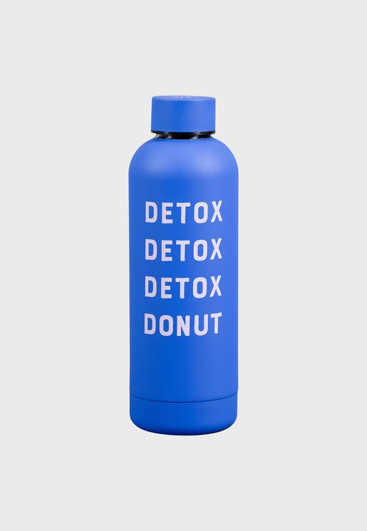 Detox Donut Water Bottle