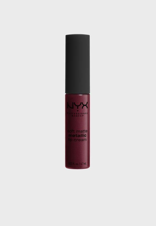 Soft Matte Metallic Lip Cream - Copenhagen