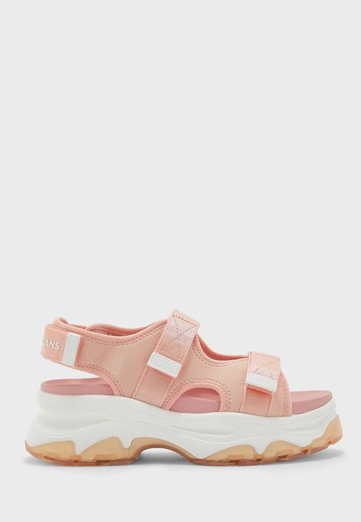 Sporty Chunky Wedge Sandal