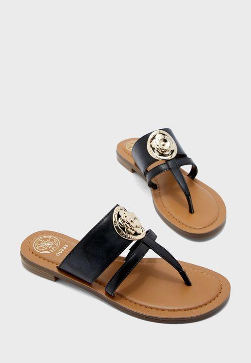 Genera Flat Sandal