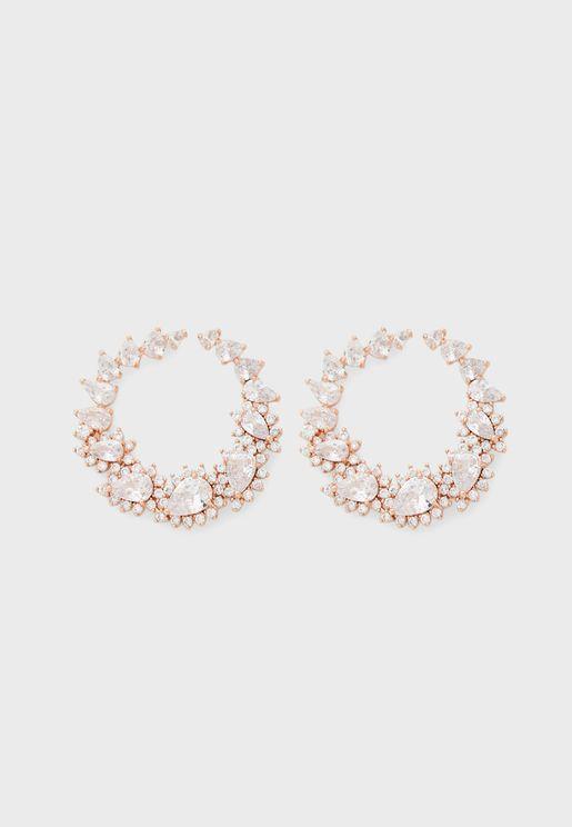 Yaha Hoop Earrings