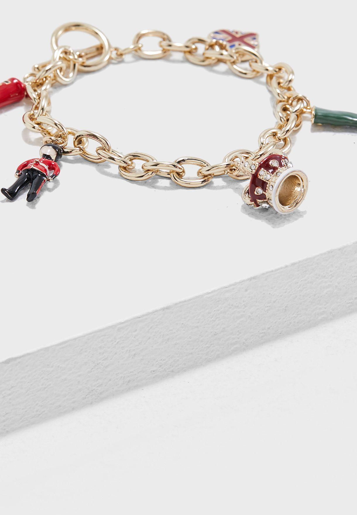 London Charm Bracelet