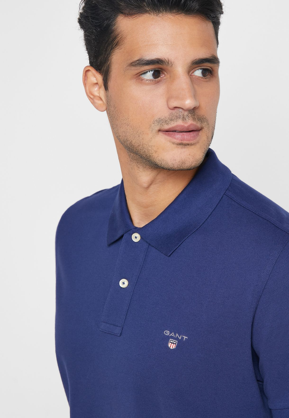 Chest Logo Pique Polo