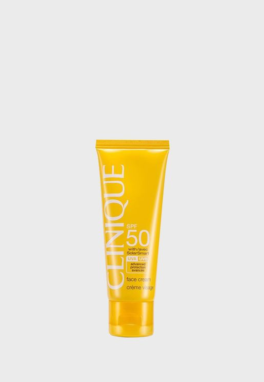 Broad Spectrum SPF 50 Sunscreen Face Cream