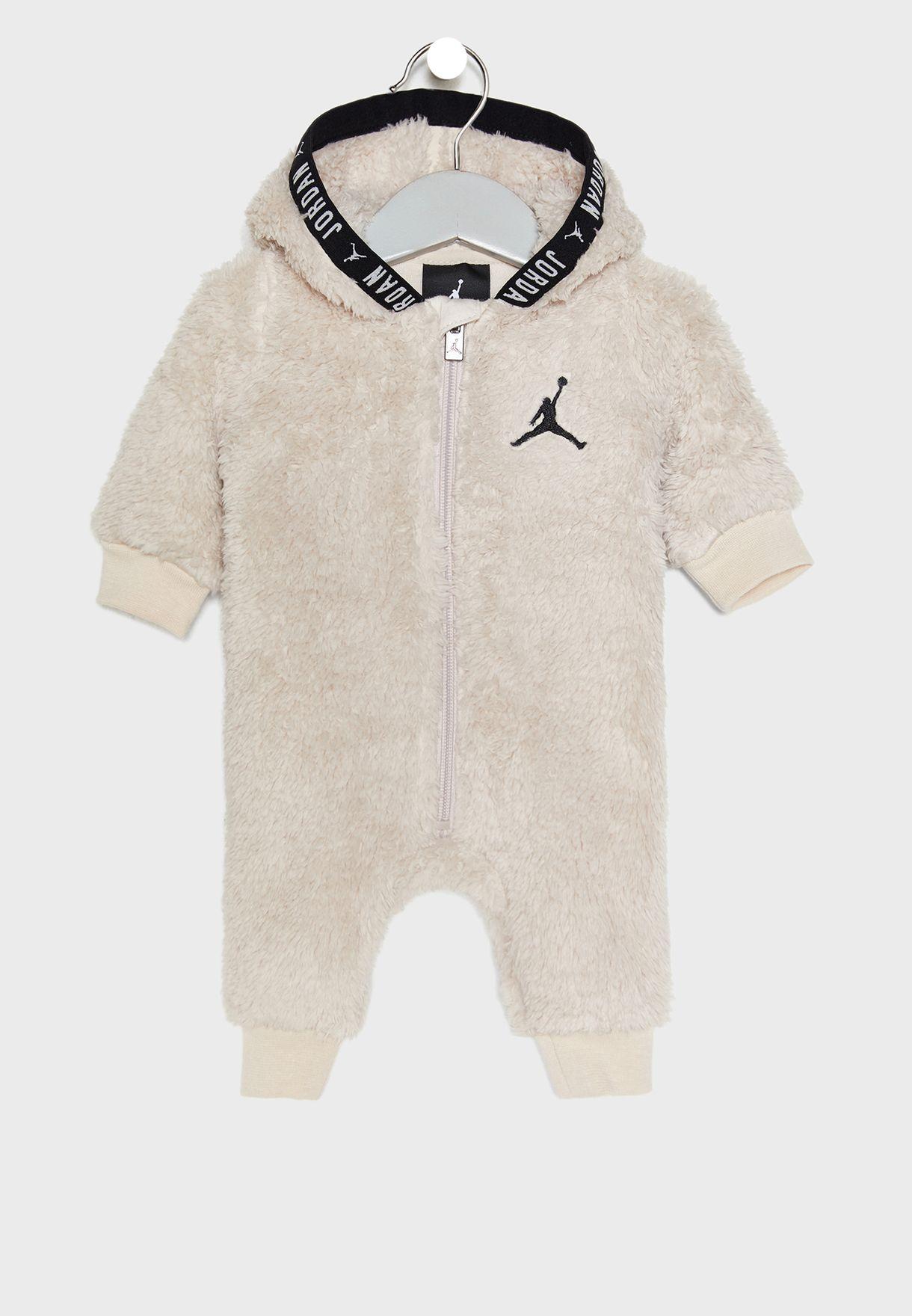 Infant Jordan Sherpa Romper