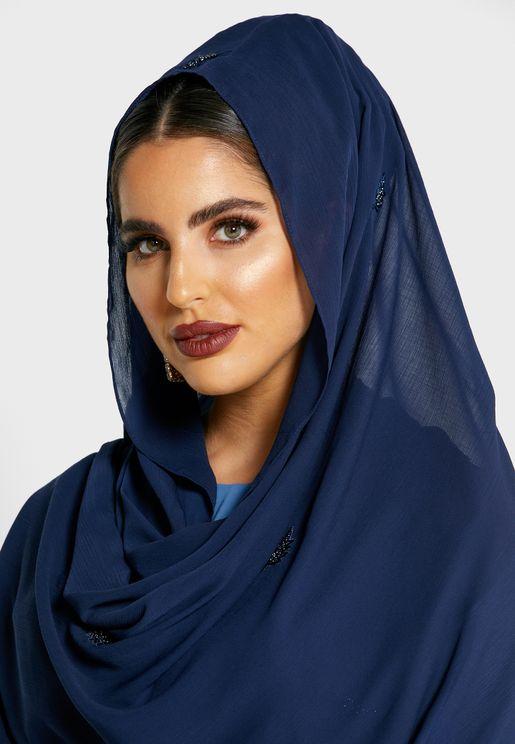 Lace Detail Hijab