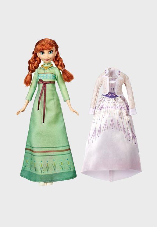 Disney Frozen Doll And Fashion - Anna