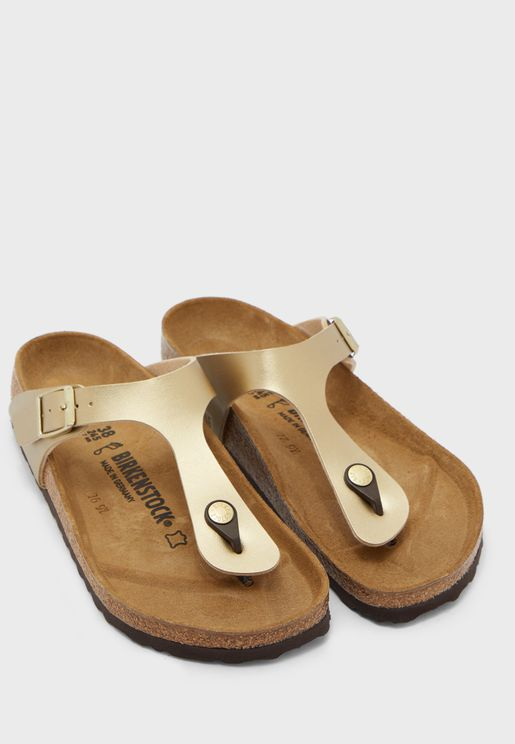Gizeh Birko-Flor Flat Sandal